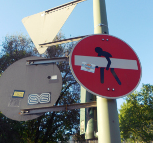 lustige Schilder