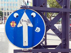Humor in der Stadt: lustige Schilder