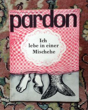 Ehe Cartoon (Pardon Satirezeitschrift 1964)