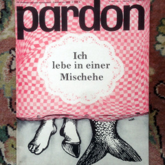 Pardon Misch Ehe Cartoon 1964 lustig