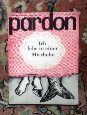 Pardon Misch Ehe Cartoon 1964 lustig