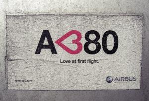 airbus a380 aufkleber