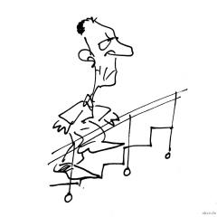 dummer spruch und karriere treppe