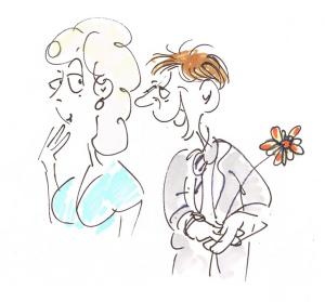 cartoons für hochzeitszeitung