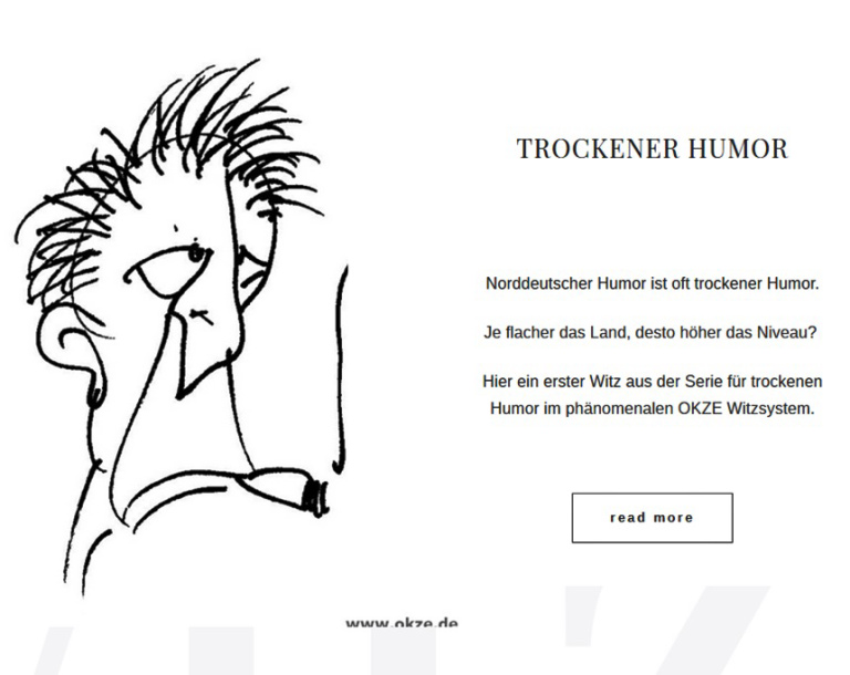 Trockener Humor, norddeutsch