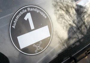 automobile Randgruppe lustiger ironischer Autoaufkleber