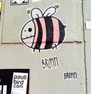 Bienen Cartoon